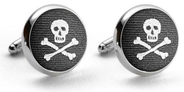 Skulls: Pedigree Cufflinks - Black