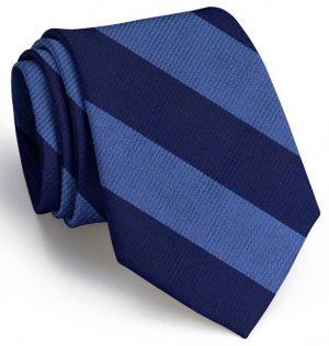 Clarkson Stripe: Tie - Blue/Navy