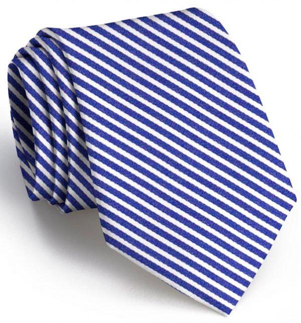 Chapman Stripe: Tie - Navy