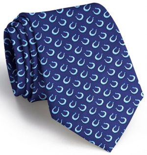 Horseshoe Heaven: Tie - Navy