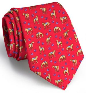 Horsin' Around: Tie - Red