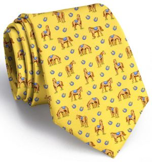 Horsin' Around: Tie - Yellow