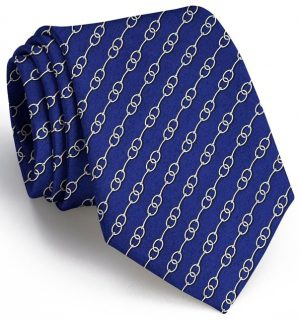 Just a Bit: Tie - Navy