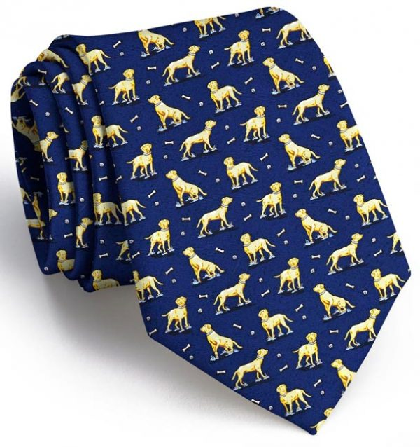 Lucky Labs: Tie - Navy