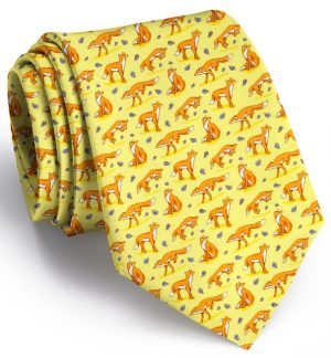 Out Foxed: Tie - Yellow
