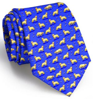 Puppy Love: Tie - Mid-Blue