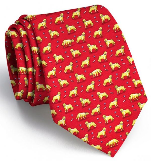 Puppy Love: Tie - Red