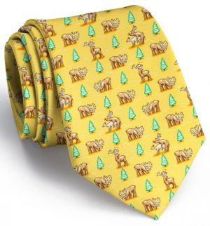 Randy Rudolph: Tie - Yellow