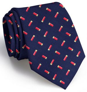 Shotgun Shells Club Tie: Tie - Navy
