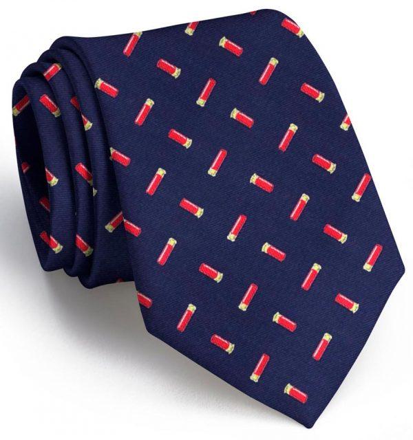 Shotgun Shells Club Tie: Tie - Navy