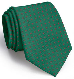 Sutton Spots: Tie - Green/Red