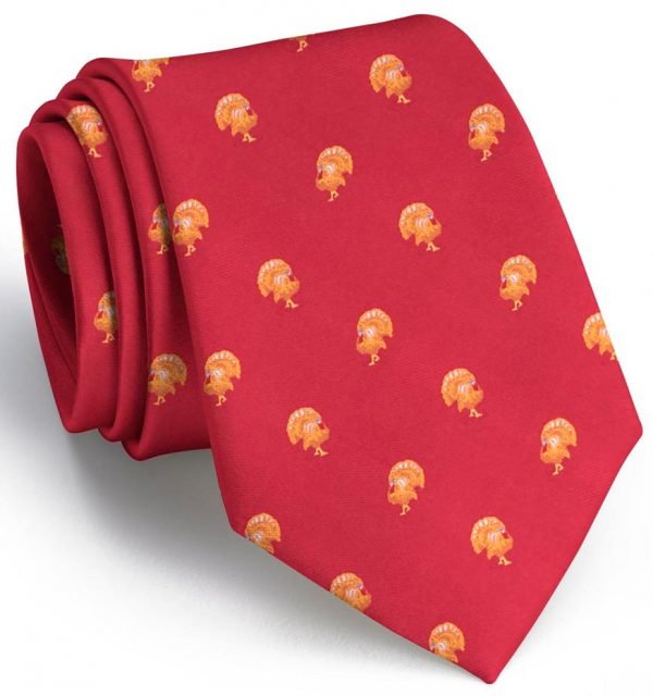 Turkey Club Tie: Tie - Red