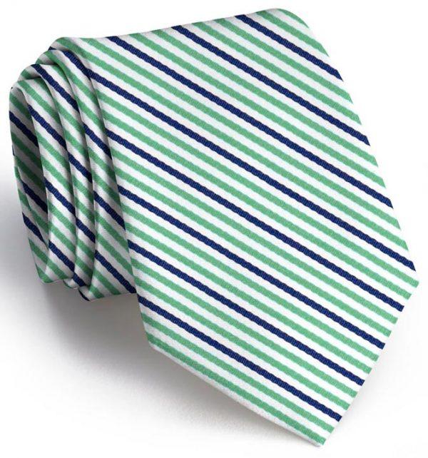 Emmet Stripe: Extra Long - Green/Navy