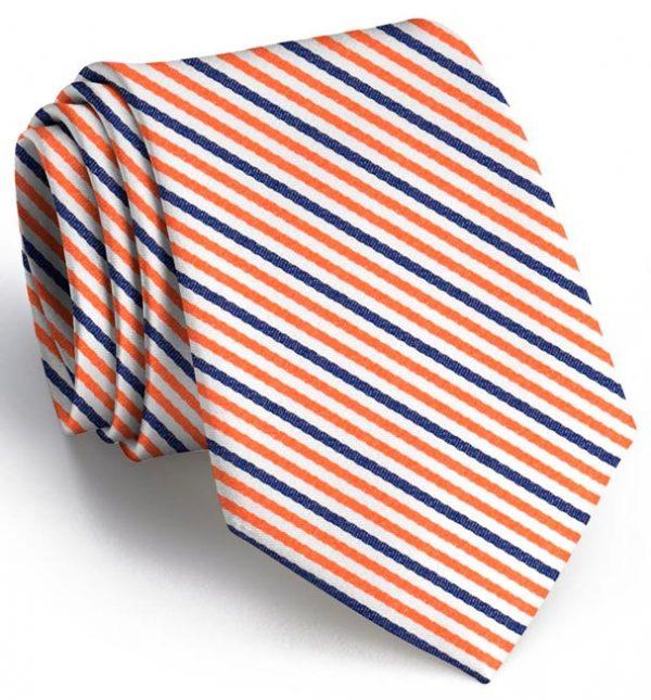 Emmet Stripe: Boys - Orange/Navy