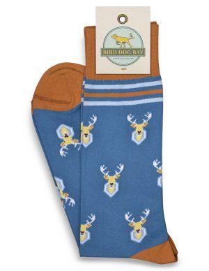Oh Deer: Socks - Blue