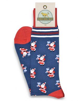 Santa Salud: Socks - Blue