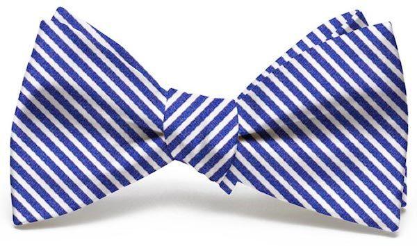Chapman Stripe: Bow - Navy