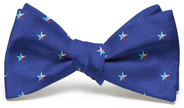 Texas Star Club Tie: Bow - Navy