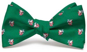 Cocktail Kringle Club Tie: Bow - Green