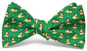 Santa Paws: Bow - Mid-Green