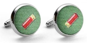 Shotgun Shells Club: Cufflinks - Green