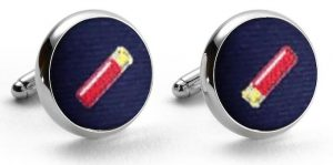 Shotgun Shells Club: Cufflinks - Navy