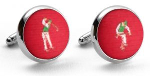 Slice Club: Cufflinks - Red