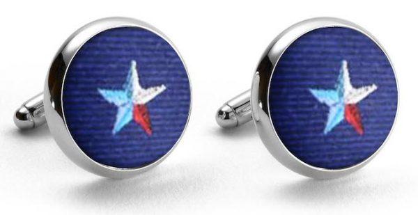 Texas Star Club: Cufflinks - Navy