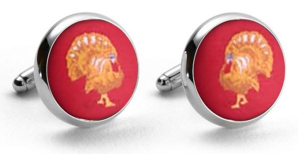 Turkey Club: Cufflinks - Red