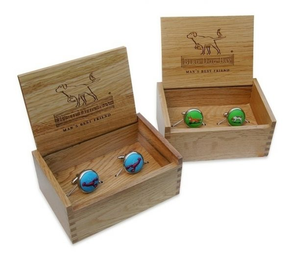 Longhorn Club: Cufflinks - Blue
