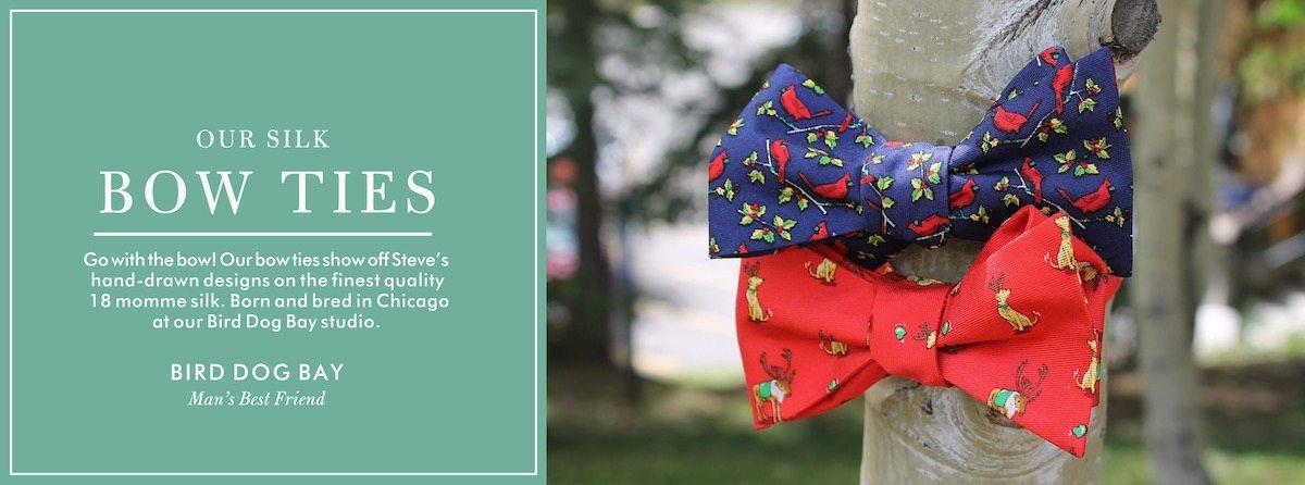 edbd1cf731352 Silk Bow Ties |Bird Dog Bay