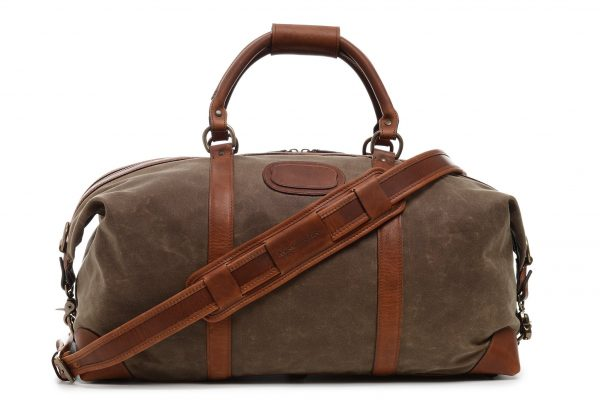 Twain: Duffel - Waxed Canvas
