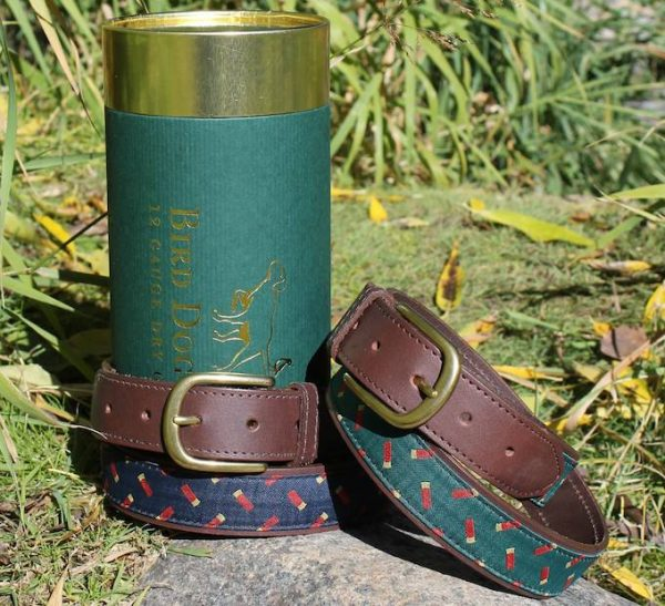 Playing Jacks: Embroidered Belt - Sage