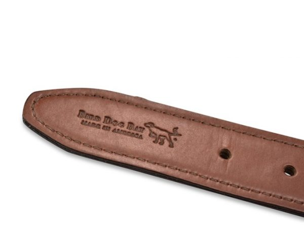 Lone Star Life: Embroidered Belt - Orange