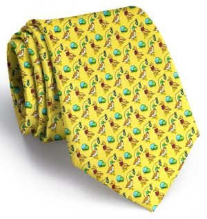 Christmas Quackers: Tie - Yellow