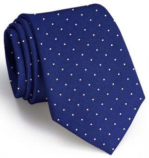 Classic Spots: Tie - Navy
