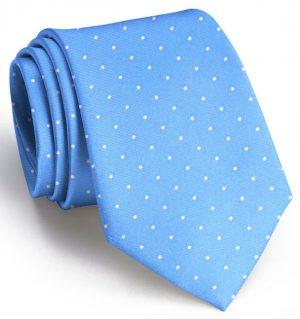 Classic Spots: Tie - Light Blue