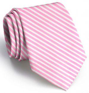Chapman Stripe: Tie - Pink