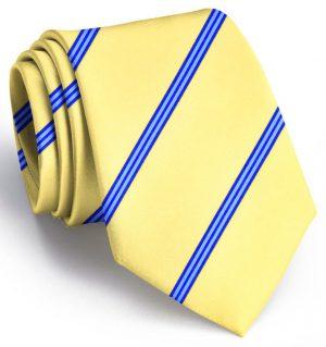 Railroad Stripe: Tie - Yellow