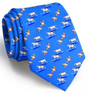 Quail Hunt: Tie - Mid Blue