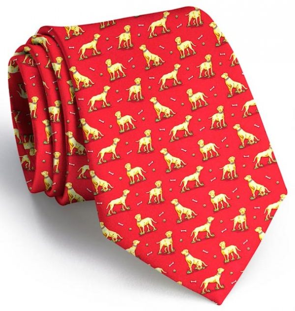 Lucky Labs: Tie - Red
