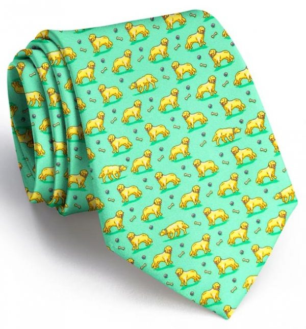 Puppy Love: Tie - Mint