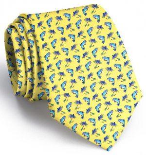 Gone Fishin': Tie - Yellow
