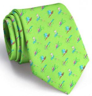 Hooked on Flies: Tie - Lime