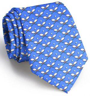 Racket Love: Tie - Mid Blue
