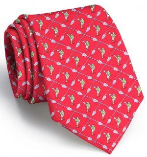 Lacrosse the Field: Tie - Red