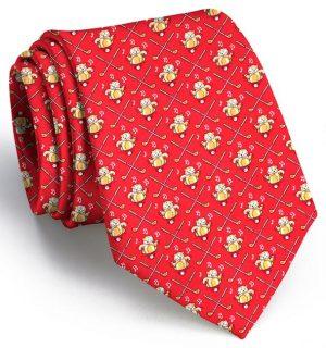 Bushwood Boogie: Tie - Red