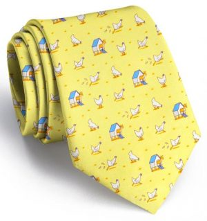 Fox in the Hen House: Tie - Yellow