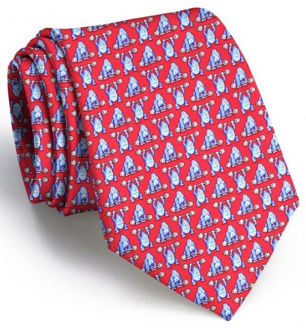 800 Pound Gorilla: Tie - Red