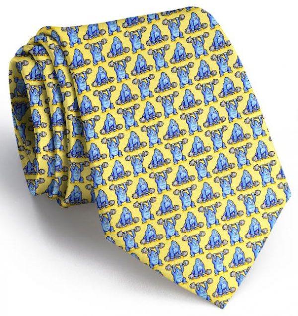 800 Pound Gorilla: Tie - Yellow